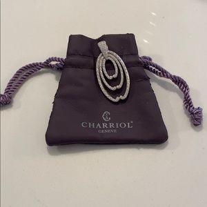 CHARRIOL GENEVE Pave Diamond Pendant